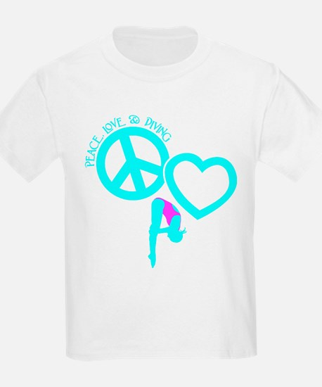 PEACE-LOVE-DIVING T-Shirt