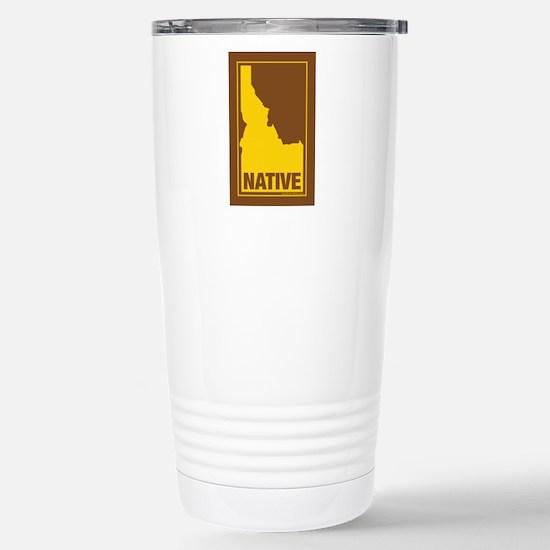 Idaho Native (Brn) - Travel Mug