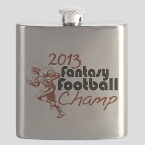 2013 Fantasy Football Champ Flask