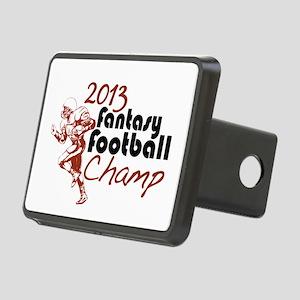 2013 Fantasy Football Champ Rectangular Hitch Cove