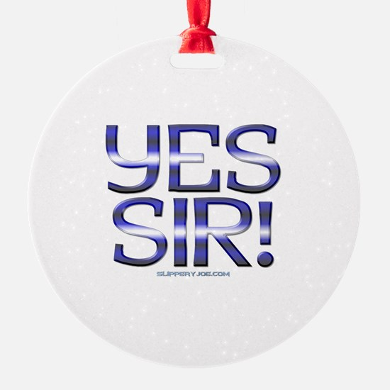 yes_sir_1a Ornament