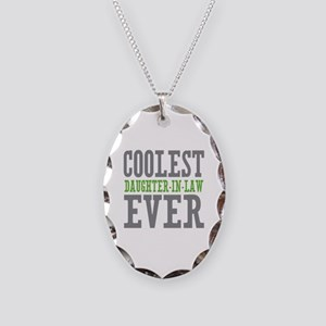 Coolest Daughter-In-Law Ever Necklace Oval Charm