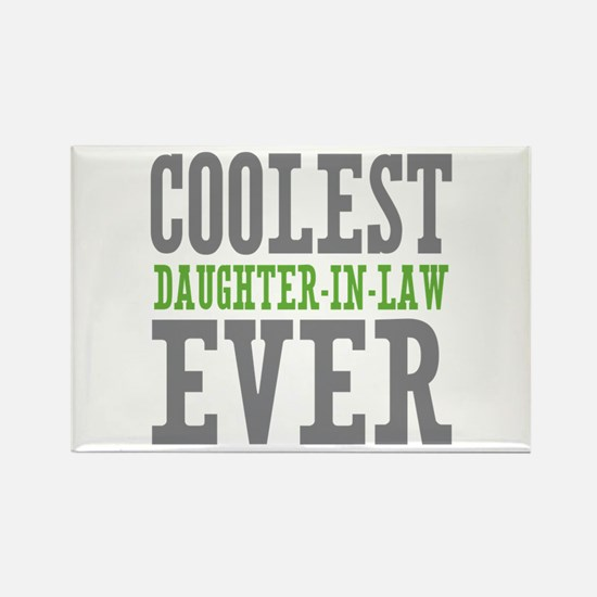 Coolest Daughter-In-Law Ever Rectangle Magnet