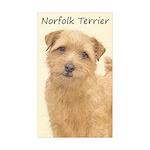 Norfolk Terrier Sticker (Rectangle 10 pk)