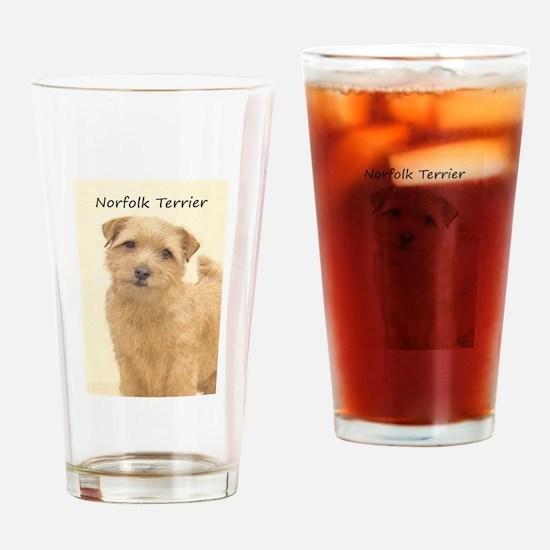 Norfolk Terrier Drinking Glass