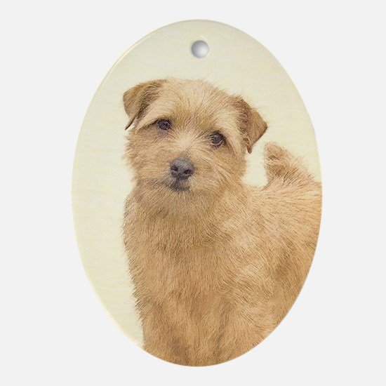 Norfolk Terrier Oval Ornament