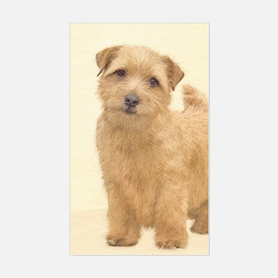 Norfolk Terrier Sticker (Rectangle)