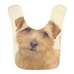 Norfolk Terrier Polyester Baby Bib