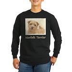 Norfolk Terrier Long Sleeve Dark T-Shirt