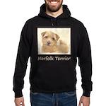 Norfolk Terrier Hoodie (dark)