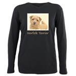Norfolk Terrier Plus Size Long Sleeve Tee