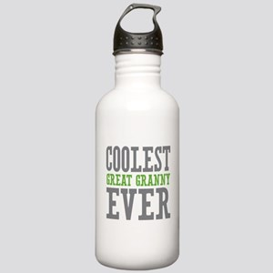Coolest Great Granny Ever Stainless Water Bottle 1
