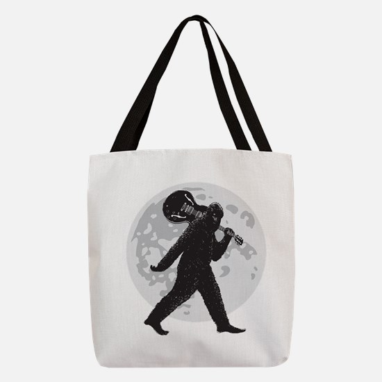Sasquatch Polyester Tote Bag
