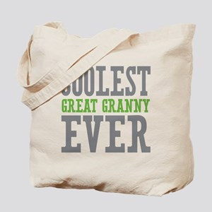 Coolest Great Granny Ever Tote Bag