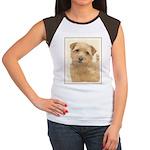 Norfolk Terrier Junior's Cap Sleeve T-Shirt