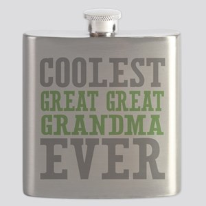 Coolest Great Great Grandma Ever Flask