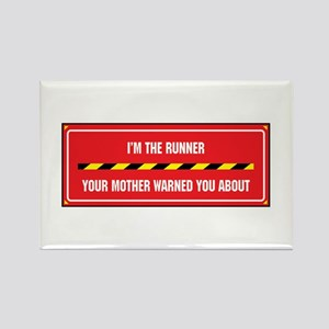 I'm the Runner Rectangle Magnet