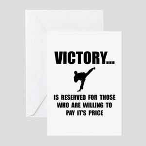 Victory Martial Arts Greeting Cards