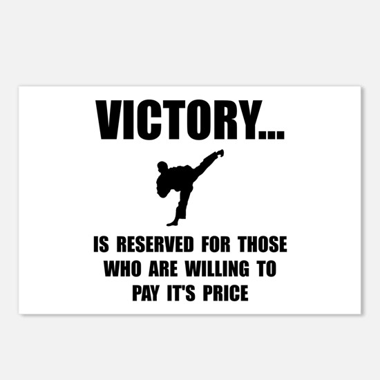 Victory Martial Arts Postcards (Package of 8)