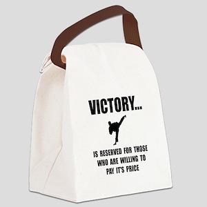 Victory Martial Arts Canvas Lunch Bag