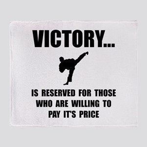 Victory Martial Arts Throw Blanket