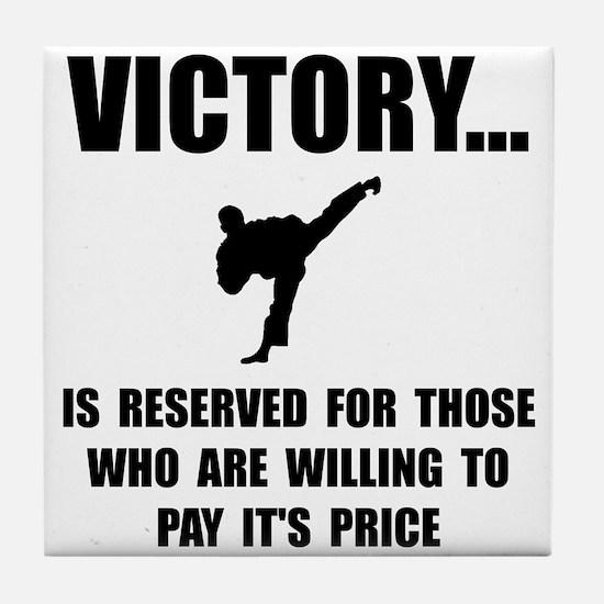 Victory Martial Arts Tile Coaster