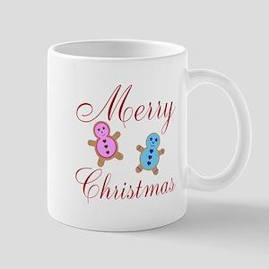 Merry Christmas Ginger Bread Mugs