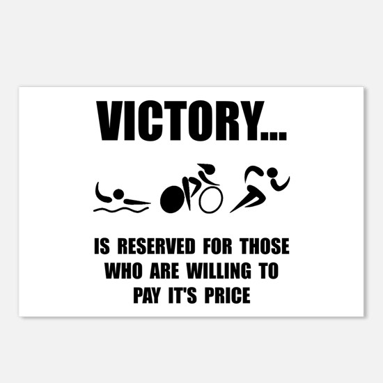 Victory Triathlon Postcards (Package of 8)