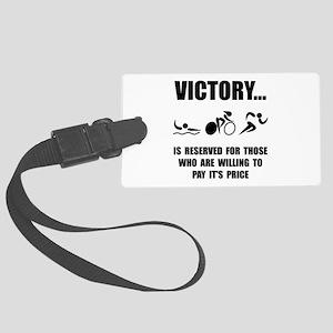 Victory Triathlon Luggage Tag