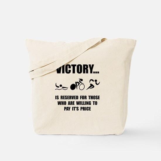 Victory Triathlon Tote Bag