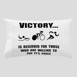Victory Triathlon Pillow Case