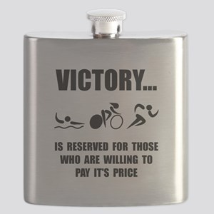 Victory Triathlon Flask