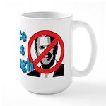 Once Was Enough Large Mug