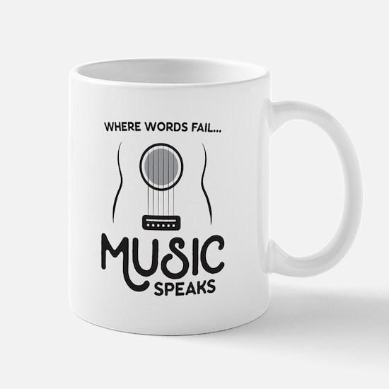 Music Speaks Mugs