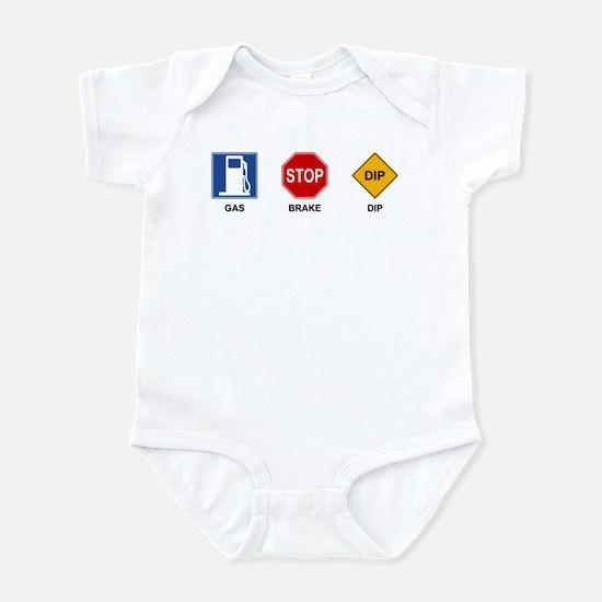 Gas Brake Dip II Infant Bodysuit