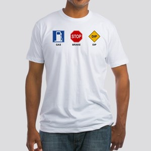 Gas Brake Dip II Fitted T-Shirt