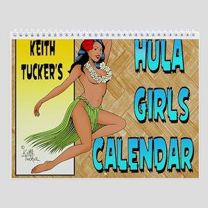 Hula Girls Calendar Wall Calendar