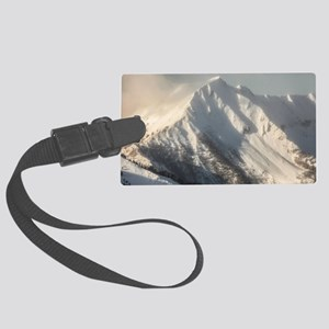 Ancient Snow Giant Large Luggage Tag