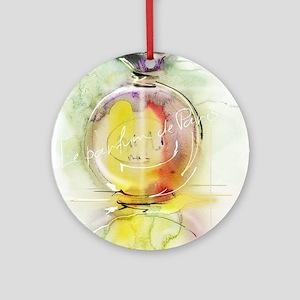 perfume Round Ornament