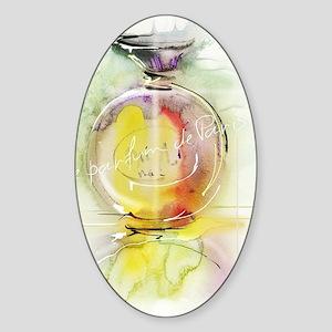 perfume Sticker (Oval)