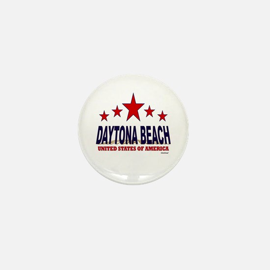 Daytona Beach U.S.A. Mini Button