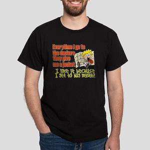 I like to Hug Myself Dark T-Shirt