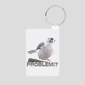 Problem!? Aluminum Photo Keychain