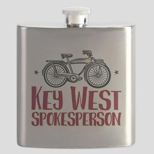 Key West Spokesperson Flask