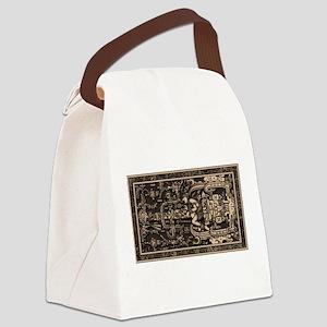 Sala Tumba de Pakal2 Canvas Lunch Bag