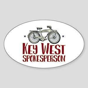 Key West Spokesperson Sticker