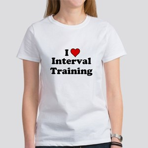 I Heart Interval Training T-Shirt
