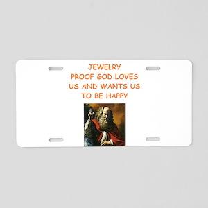 jewelry Aluminum License Plate
