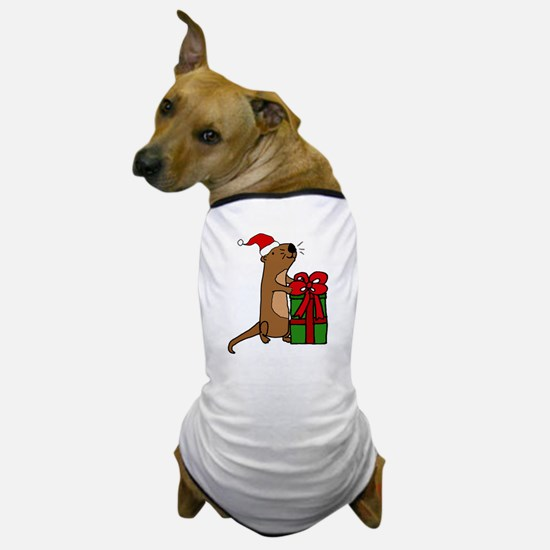 Cool Otter Dog T-Shirt