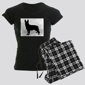 German Shepherd Silhouette Pajamas